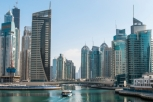 Dubai Marina is filled to the brim with New and Impressive Architecture