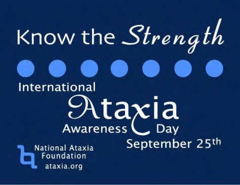 Internatonal Ataxia Awareness Day