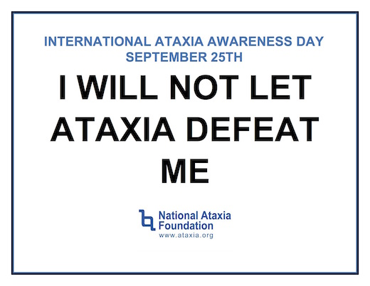 Interntional Ataxia Awarenea Day