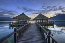 Kintamani, Sunrise Batur Lake