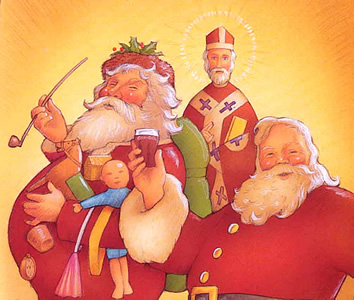 The Story Behind Santa Claus?