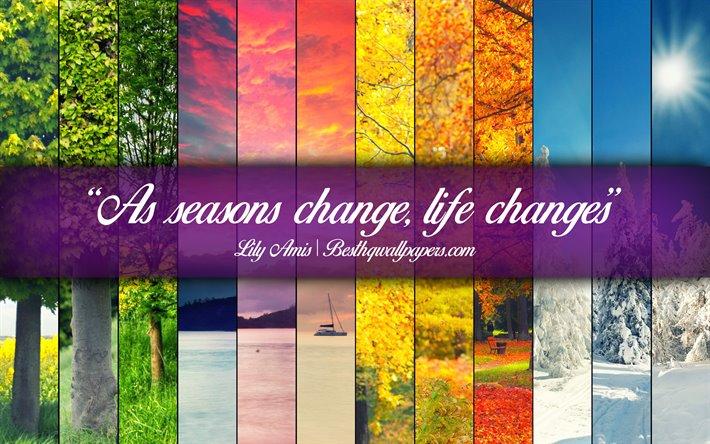 25 Season Quotes